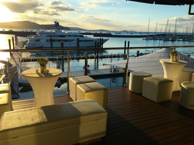 Lure Waterfront Balcony at Abell Point Marina