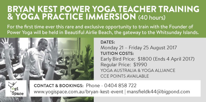 Yoga Workshops At Lure Abell Point Marina