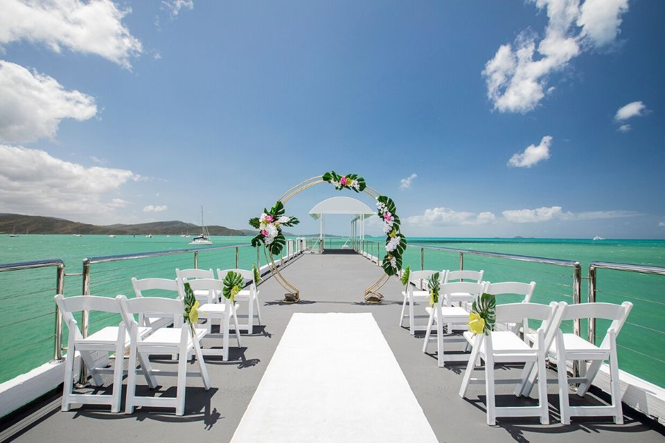 Coral Sea Marine Resort The Jetty ceremony venue